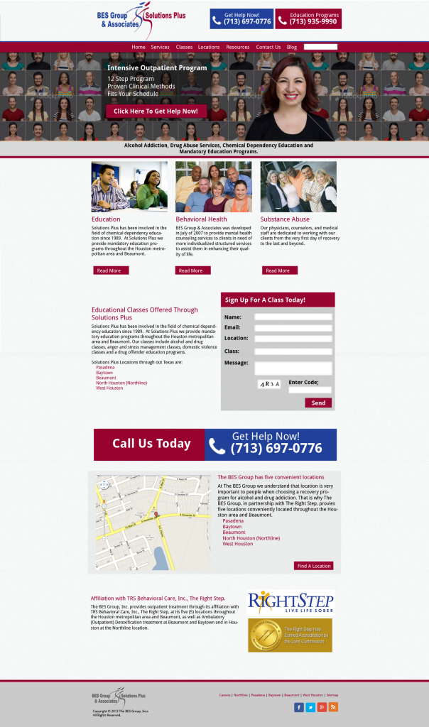 BES Group Solutions Plus Website
